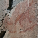 Petroglyphs in Lake Superior Provincial Park